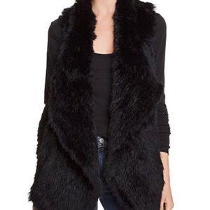 Bloomingdales fur cashmere vest